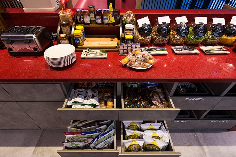 Google Singapore pantry