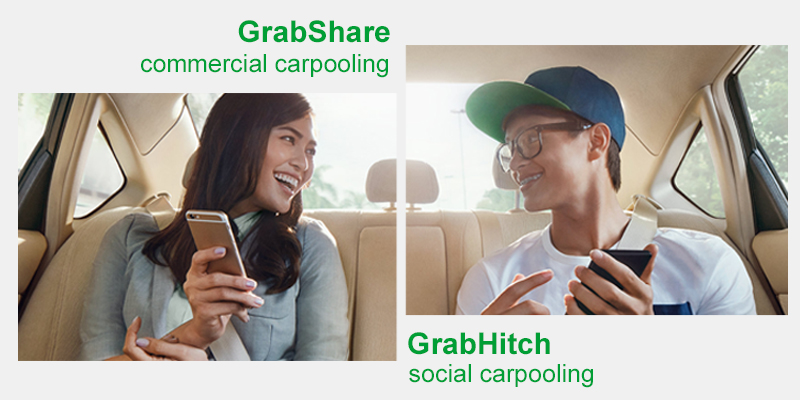 GrabShare vs GrabHitch