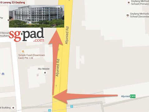 Directions to SGPad : iPad Rental